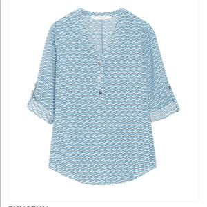Fun2Fun Parkersburg Henley Top